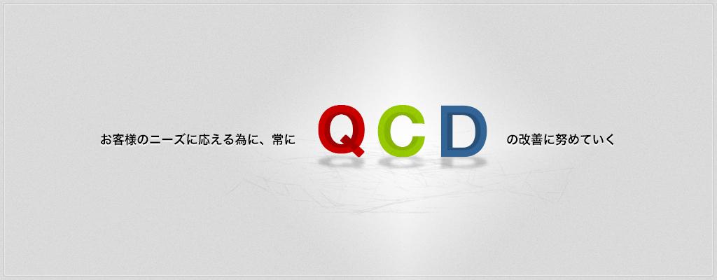 お客様のニーズに応える為に、常にQCDの改善に努めていく